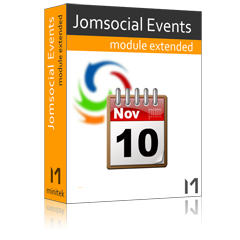Jomsocial Events Module Extended