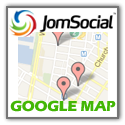 CmsVenue JomSocial Members Google Map Module