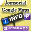 Google Maps for Jomsocial
