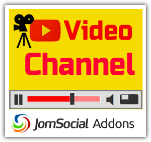 Video Channel for JomSocial