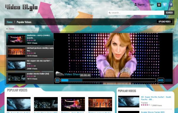 Apptha Video Stylo Theme