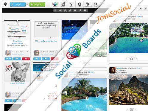 SocialBoards for JomSocial