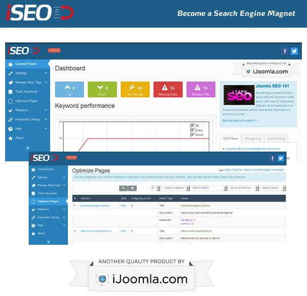 iSEO - Become a Search Engine Magnet