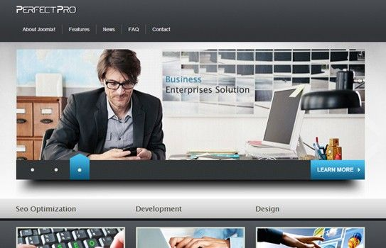 Free joomla business template wajeb Gallery