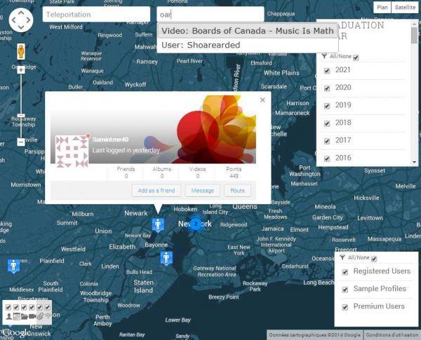 Geommunity3: Ajax GOOGLE MAPS for members, events & media