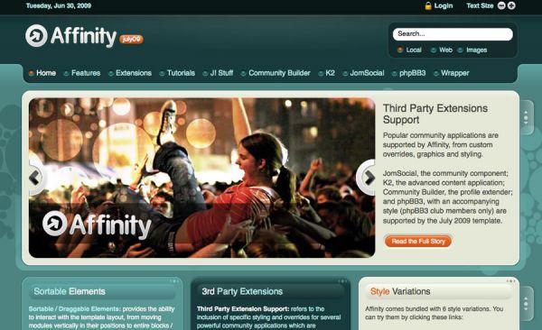 Affinity by RocketTheme