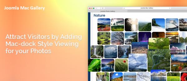 Joomla Photo Gallery (Mac dock effect)