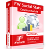 FW Social Stats Country module for JomSocial
