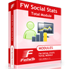 FW Social Stats Total for JomSocial