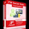 FW Social Stats Total for JomSocial