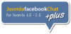 Joomla facebook chat +Plus