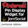 Pinterest Pin Display Widget for JomSocial