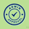 Admin Approval Plugin