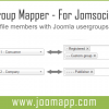 UserGroup Mapper for Jomsocial