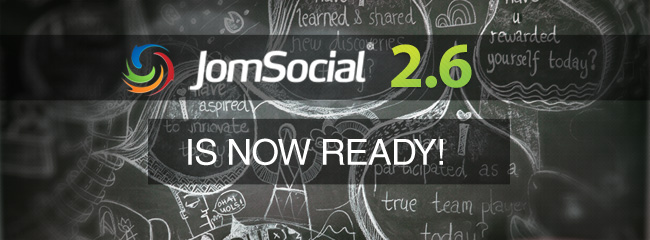 JomSocial 2.6, a global overview of features