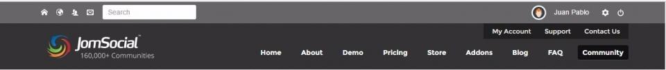 alguien que me ayude a configurar el top menu en donde se hace login y tiene el buscador. gracias
