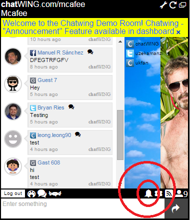 An Excellent tip is to try Chatwing for your social chat room, directly integrate via JomSocial, customize every aspect, fully hosted and free! #jomsocial #chat