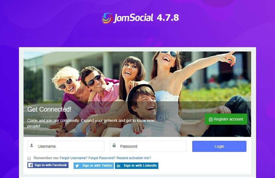 Jomsocial Joomla social community extension updated for bug fixes