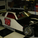 NASCAR Super Late Model Race Car Pics before lettering!