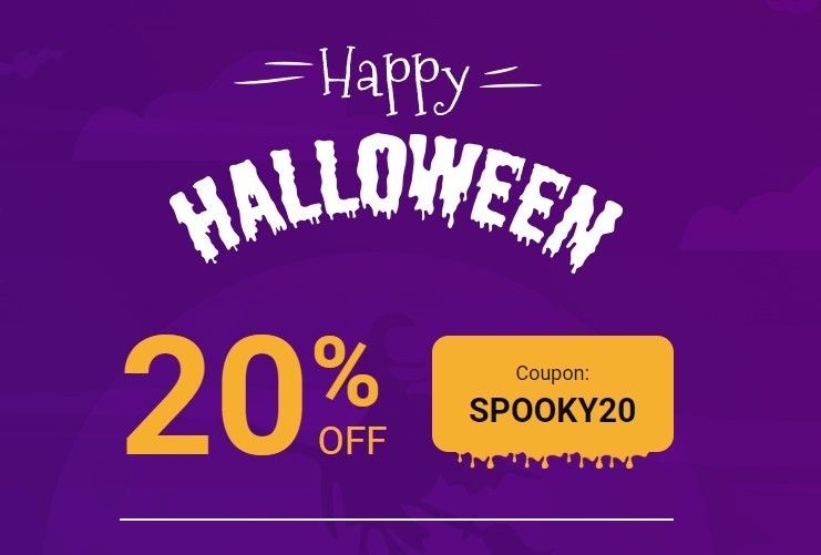 Happy Halloween All! 20%OFF Coupon: SPOOKY20https://www.joomlart.com/halloween-2019