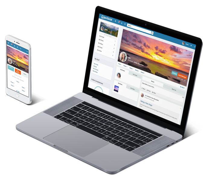 jomsocial demo site admin front end open source social network