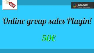 Online Group Sales Plugin for JomSocial