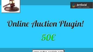 Oline Auction Plugin for JomSocial