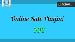 Online Sale Plugin for JomSocial