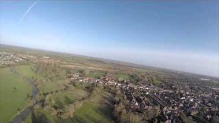 Stony Stratford Buckinghamshire Aerial Video