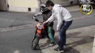 Le meilleur jour de ma vie, ma première moto