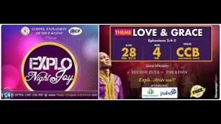 Gospel Explosion Explo Night of Joy - Gospel Link Online