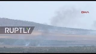 LIVE: Turkey launches military operations against IS in Jarablus