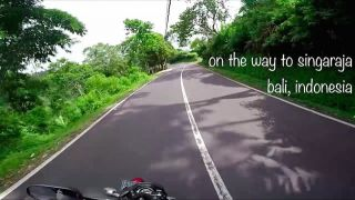Motorbike roadtrip in Bali, Indonesia