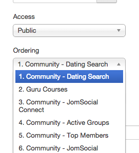 Dating search jomsocial